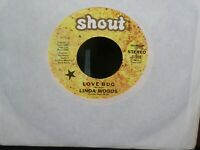 Linda Woods~Love Bug promo Mono/Stereo 45rpm on Shout S-308