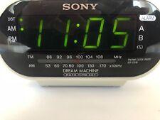 Sony Icf-C318 Dream Machine Fm/Am Clock Radio - White