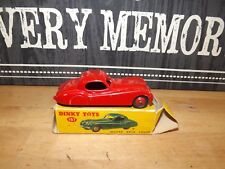 DINKY TOYS No 157 RED JAGUAR XK120 SPORTS CAR & original box  very good