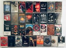 You Pick Cassette Tapes Lot: Metal, Hard Rock, Hair, Glam, Prog, 80s, 90s