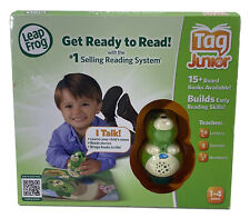LeapFrog Tag Junior Reading System with Puppy Pal Scout Letters Sounds Numbers