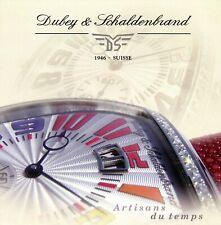 Dubey & Schaldenbrand Coupe 06 Prospekt 2006 GB 8 S Uhrenprospekt brochure watch