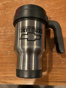 Vintage Chevy Truck 16 oz Stainless Steel Insulated Tumbler Travel Coffee Cup