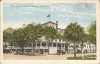 Daytona, FLORIDA - New Williams Hotel - ARCHITECTURE - old car