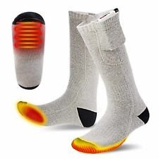 Outdoor Battery Heated Warmer Socks Rechargeable Operated Electric Pocket Cloth