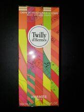 Hermes Tilly d' Hermes Body Shower Cream Creme De Douche 6.5 oz / 200 ml Sealed