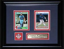 Gary Carter Montreal Expos MLB baseball 2 Card MLB Baseball Collector Frame