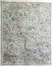 OXFORD BERKSHIRE BUCKINGHAMSHIRE HENLEY BY JOHN CARY GENUINE ANTIQUE MAP  c1794