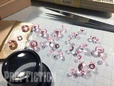 Movie Prop Pink Diamond Set - Film Prop Faux / Fake Pink Diamond / Display Gems