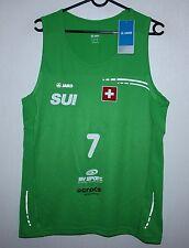 Suiza Swiss Playa Balonmano Camisa #7 Jako Bnwt Talla M