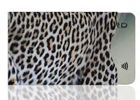 OPTEXX® RFID / NFC 1x Schutzhülle Leoparden Fell | TÜV geprüft & zerifiziert |