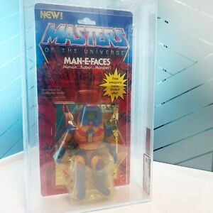 Man-E-Faces 1983 Mattel MOTU Series 2 Masters of the Universe AFA 80 He Man MOC