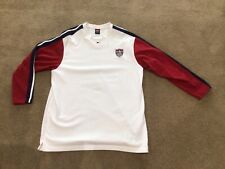 Vintage Nike Usa Soccer Pullover Long Sleeve Shirt Size Xl
