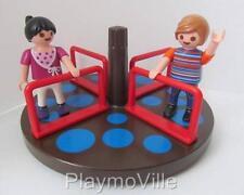Playmobil Set Dollshouse/Playground extra: niños figuras & rotonda * Nuevo *