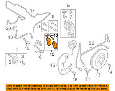 AUDI OEM 09-12 Q5 Brake-Front Pads 8K0698151L