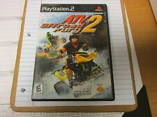 ATV Offroad Fury 2 Game for PS2 console MISSING BOOKLET.