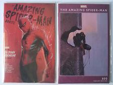 Amazing Spider-Man #800 Moebius + 1:25 Dell'Otto Trade Variant NM (2 Comic Set)
