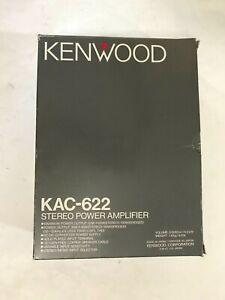 Old School Rare Kenwood KAC-622 Amplifier made in Japan