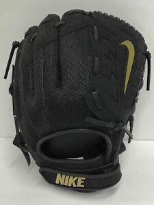 Nike Hyperdiamond Edge Softball Glove Right Hand Throw Youth 11.5 049 Black Gold