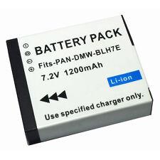 Dmw-Blh7E 7.2V 1200mAh Rechargeable Li-ion Battery Pack For Panasonic Camera