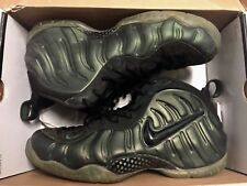 Nike Air Foamposite Pro Sz 11 Forest Pine Green Penny Galaxy Yeezy Rare