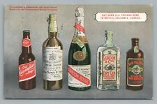 """""""Old Friends—British Columbia"""" LIQUOR Prohibition—Old Milwaukee Beer—Whiskey Gin"""
