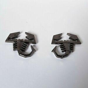 2 Gun Metall Grau 3D Skorpion Kennzeichen Emblem Für Honda Accord Civic Jazz Crv