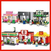 Compatible Lego Retail Stores With Box Free & Fast Shipping