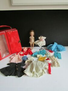 Vtg American Character BETSY McCALL DOLL W Tons of Clothes Case Mannequin
