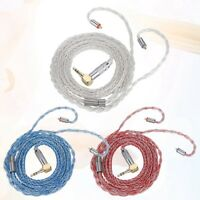8 Core Balanced Earphone MMCX Cable Cord Wire for Shure Headphone SE535 UE900