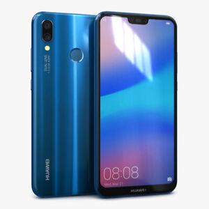 "Unlocked Huawei P20 Lite 64GB Ram 4GB 16MP 5.84"" Dua SIM Smartphone Refurbished"