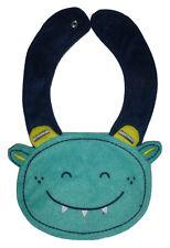 NEW Carter's Monster Baby Boys Green Terry Cloth Teething Drool Bib