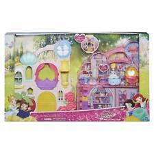 DISNEY PRINCESS KINGDOM n llevar Castillo LITTLE muñeca casa PLAY Playset Juguete