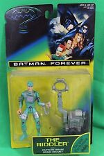 Batman Forever Riddler with Silver Accessories Figure Kenner 1995 New on Card