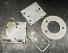 Land Rover Series Spare Tire Mount Kit for Rear Door Genuine Galvanized