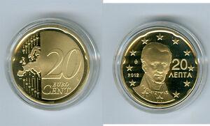 Grèce 20 Cent 2018 Pp Seulement 2.000 Pièce
