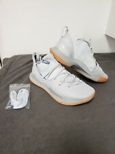 Under Armour Curry 5 Basketball Shoes Size 10 Worn Once Imaculate Shape Grey Gum