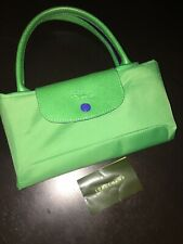 Longchamp Le Pliage Medium Tote In Green **Good Condition**