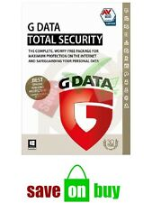 G-Data Antivirus, Internet Security, Total Care 2020 , 1 User (Choose the Years)