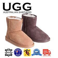UGG Boots Mini Classic Suede Upper & Sheepskin Inner Non-Slip Rubber Sole