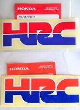 Honda HRC Honda Racing Decal Stickers x 2  *** GENUINE HONDA ***