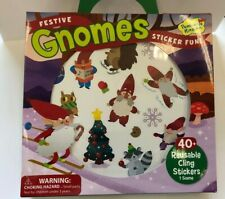 40+ Gnome reusable Stickers with play scene Party Favors Teacher Supply car
