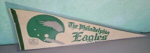 """Vintage NFL Philadelphia Eagles Pennant 12 x 30"""" Officially Licensed Product"""