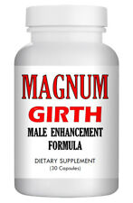 """Magnum Girth"" - Natural Strong Herbal Sex Enlargement Pills for Men 30 USA"