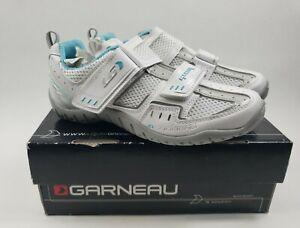 LOUIS GARNEAU WOMANS MULTI RX CYCLING SHOES / NEW IN BOX / SIZE 37/ MTB WHITE