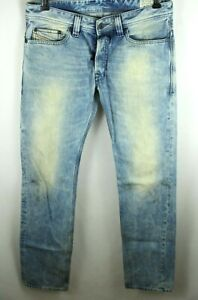 Diesel Safado Acid Wash Light Denim Jeans Size 29 x 32