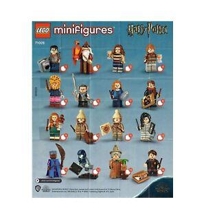 LEGO Figurine Minifigure 71028 Série Harry Potter 2 Series Au Choix