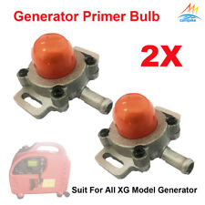 2X Premium Primer Bulb ball Fuel Pump For XG-SF3200 F6200Ri Inverter Generator