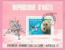 République d' HAITI - 1969 - Bloc 29 - Premier homme sur la Lune - Apollo 11 - o