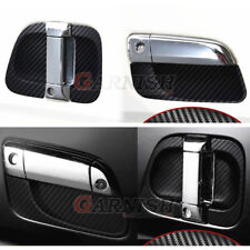 6PCS Rubber Door Handle Bowl Cover For TOYOTA HIACE 200